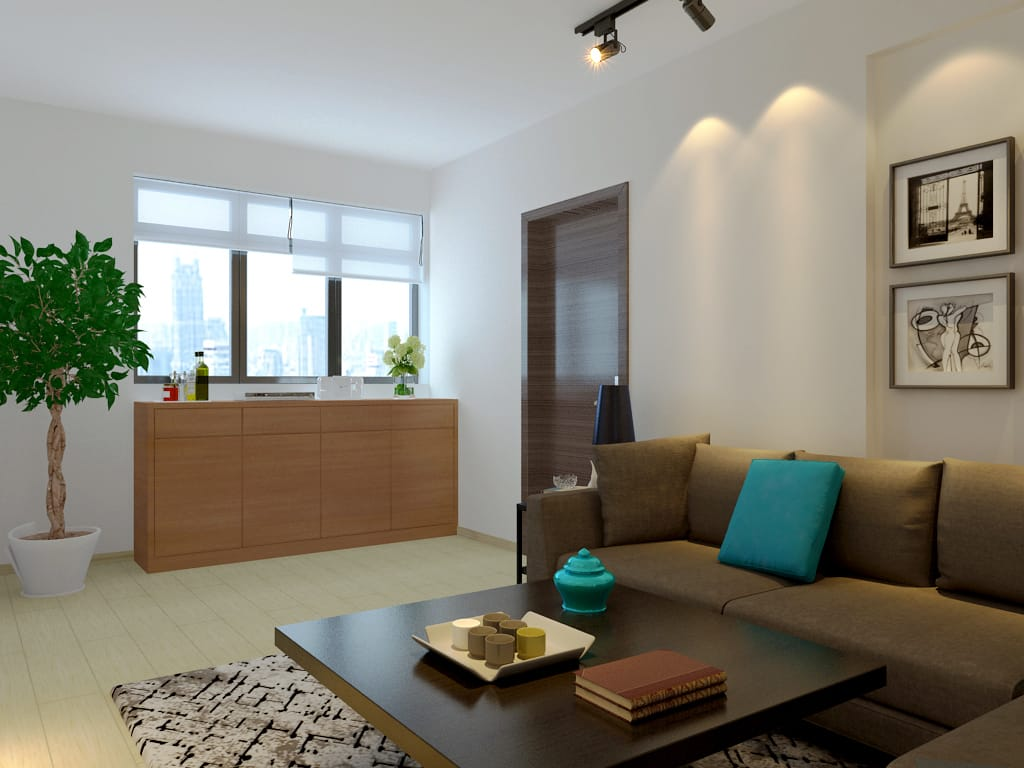 telok blangah resale living room hdb renovation singapore bto package quote house contractor