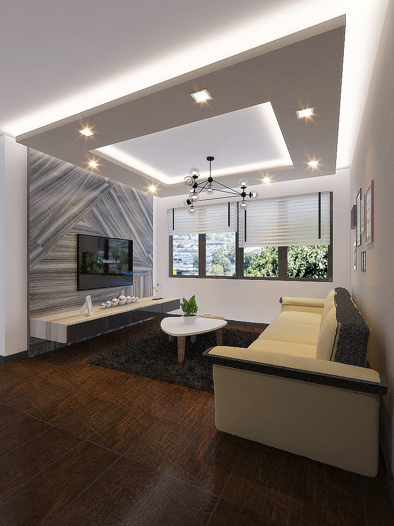 Parkedge living room hdb renovation singapore bto package quote house contractor
