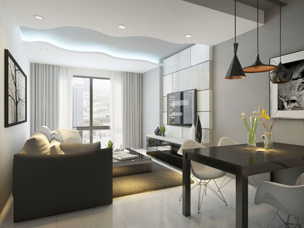 Punggol living room hdb renovation singapore package quote house contractor
