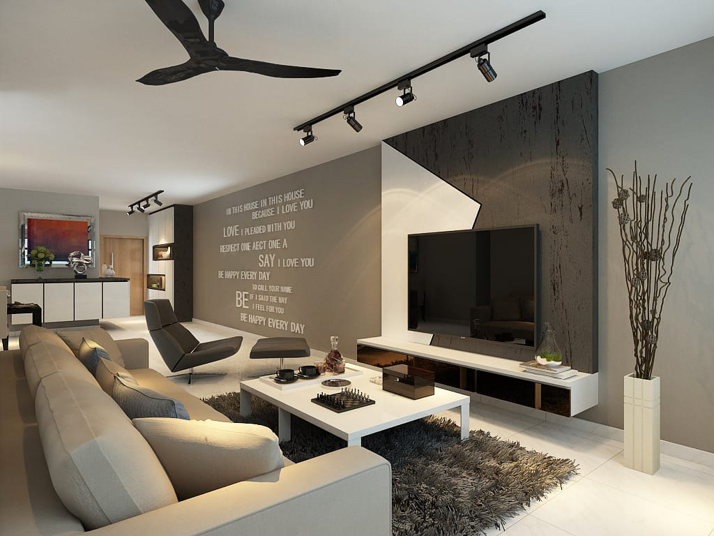 Edgefield resale hdb renovation singapore bto package quote house contractor living room