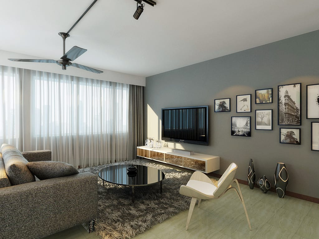 compassvale renovation singapore bto package quote house contractor living room